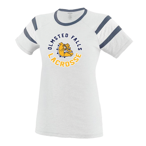 OFHS Girls Lacrosse Ladies Fanatic Tee (F330)