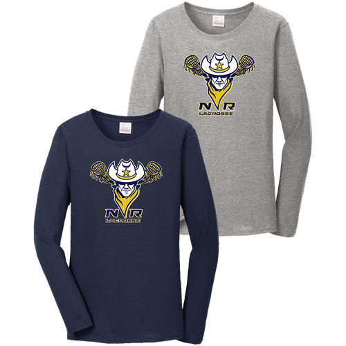 North Ridgeville Lacrosse Ladies LS Tee (F328)