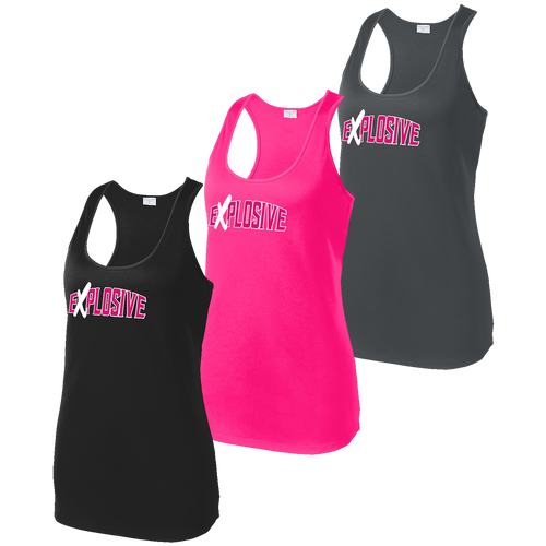 Explosive Fastpitch Ladies Competitor Racerback Tank (F296)