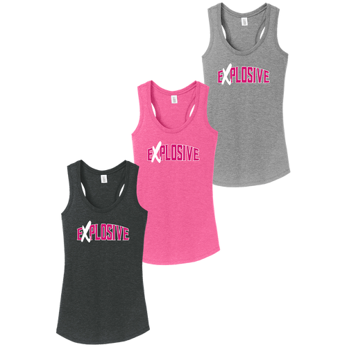 Explosive Fastpitch Ladies Perfect Tri Racerback Tank (F296)