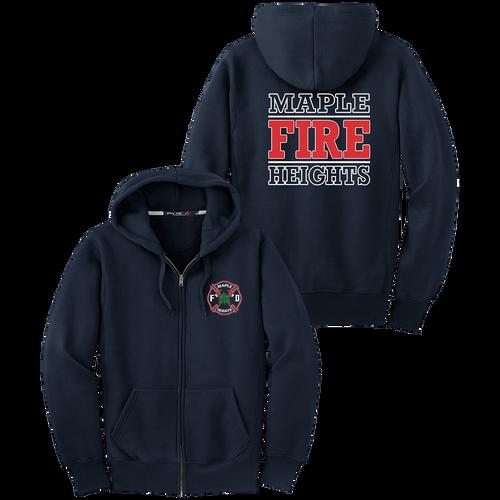 MHFD Station Heavyweight Full-zip Hoodie (S169/F265)