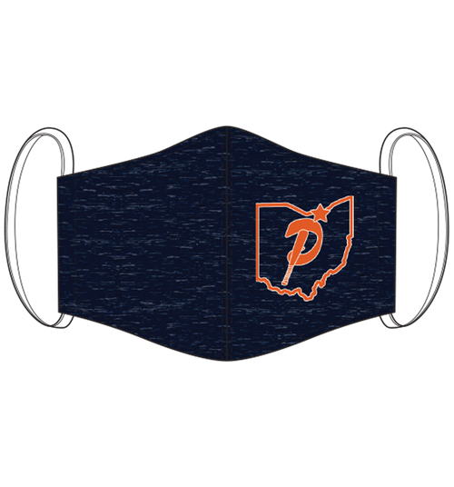 Premier Ohio Baseball Face Mask (CUST)
