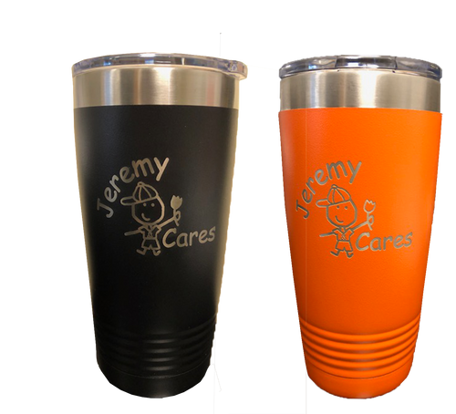 Jeremy Cares Travel Mug (CUST)
