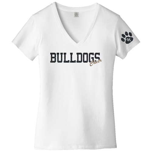 2020 OFHS Cheer Blended Jersey V-Neck Tee (C009/C010)