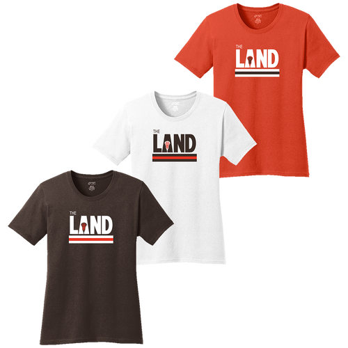 The Land LAX Ladies Tee (F362/F363/F364)