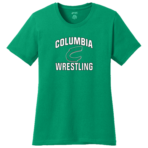 Columbia Wrestling Ladies Tee (F374)