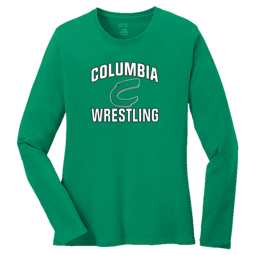 Columbia Wrestling Ladies LS Tee (F374)
