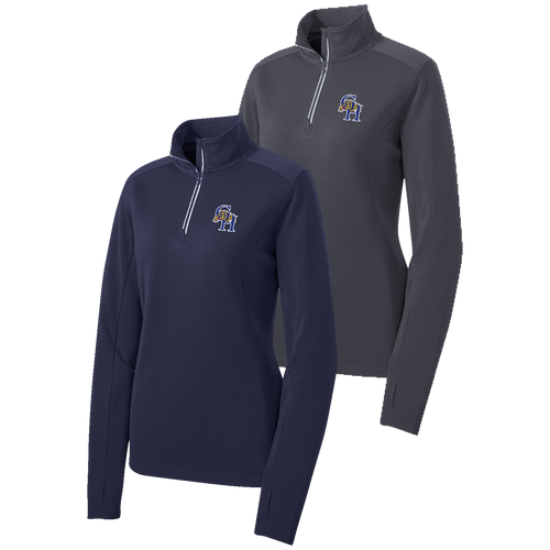 Garfield Heights Athletic Booster Club Ladies 1/4 Zip Pullover (RY071A)