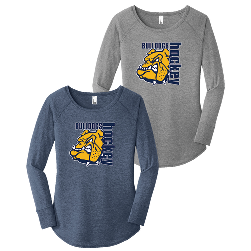 OFHS Hockey Ladies LS Tee (F386)