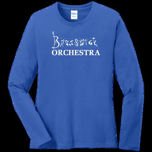 Brunswick Orchestra Ladies LS Tee (F394)
