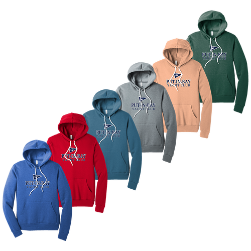 Put-In-Bay Yacht Club Fleece Hoodie (F392)