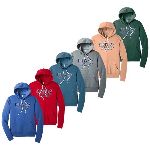 Put-In-Bay Yacht Club Fleece Hoodie (F393)