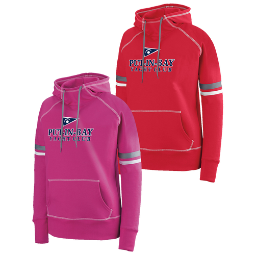 Put-In-Bay Yacht Club Ladies Spry Hoodie (F392)