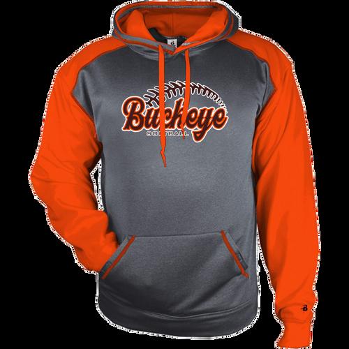 Buckeye Softball Sport Heather Hoodie (F398)