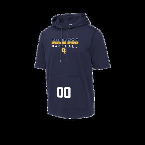 OFHS Baseball Short Sleeve Hoodie (F399)
