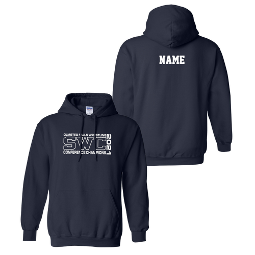 OFHS Wrestling SWC Champions Hoodie (F304)