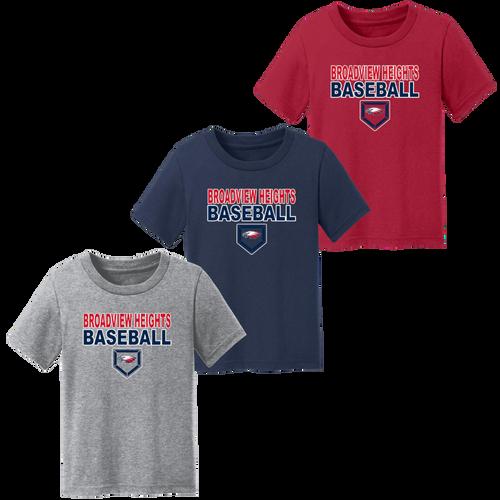 Broadview Heights Baseball Toddler Tee (S217)