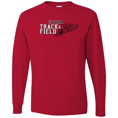 Elyria Westwood Track & Field LS Tee (F408)