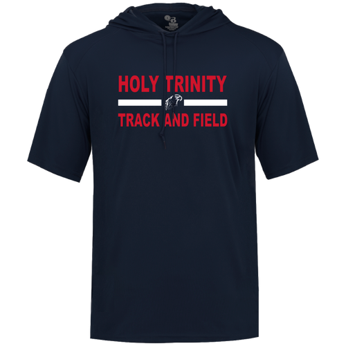 Holy Trinity CYO Track & Field Short Sleeve Performance Hoodie (F411)