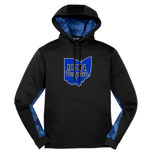 ICON Fastpitch Camohex Performance Hoodie (F412)