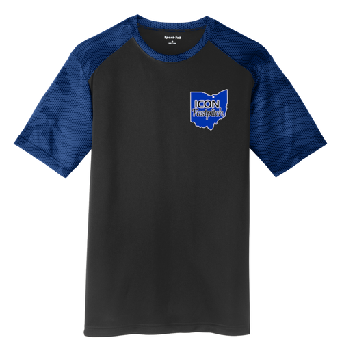 ICON Fastpitch Camohex Performance Tee (S227)
