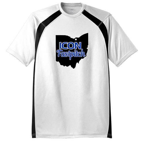 ICON Fastpitch Colorblock Crew Tee (F413)