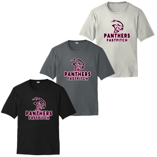 Medina Panthers Fastpitch Performance Tee (F415)