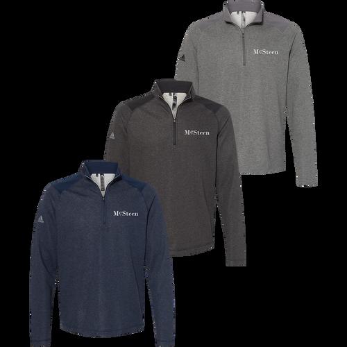 McSteen Land Surveyors Adidas 1/4 Zip (RY266)