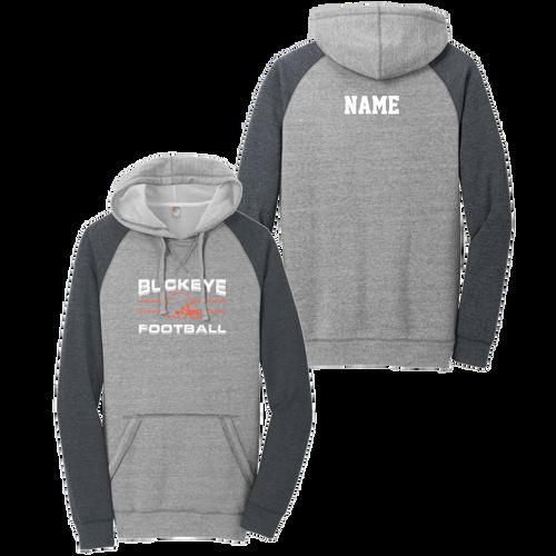 Buckeye Football Raglan Hoodie (F427)