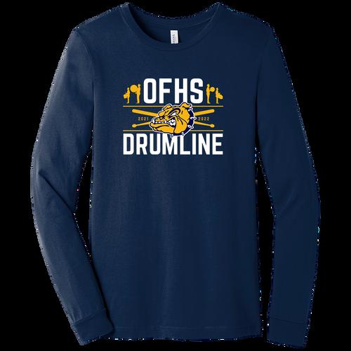 Olmsted Falls Drumline LS Tee (F433)