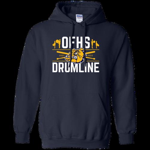 Olmsted Falls Drumline Hoodie (F433)