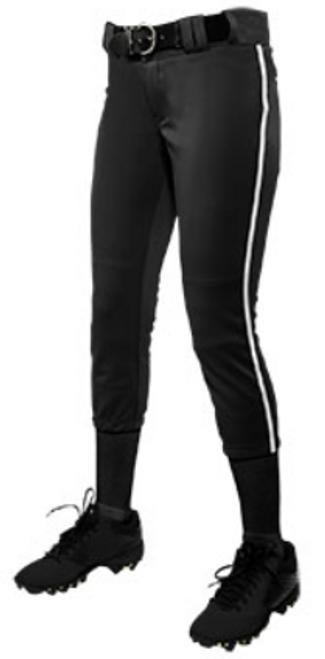 Explosive Fastpitch Pants (Black/White) MANDATORY ITEM