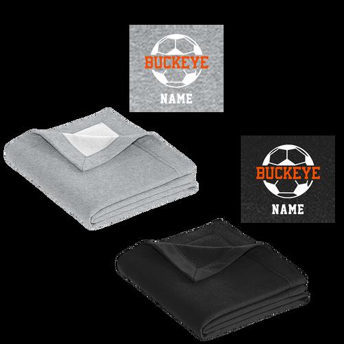 Buckeye Soccer Blanket (RY338)