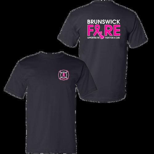 Brunswick Fire Fight Cancer Tee (S245/B047)