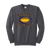 Bulldog Youth Football Crewneck - Charcoal