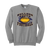 Bulldog Youth Football Crewneck - Athletic Heather