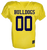 Bulldog Youth Football Authenticate Game Jersey - Gold