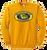 OF Lacrosse Crewneck Sweatshirt - Gold