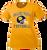 Bulldog Youth Football Ladies Performance Tee - Gold