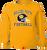 Bulldog Youth Football LS Tee - Gold