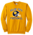 Bulldog Youth Football Crewneck - Gold