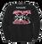 Black Crewneck - Full logo on back