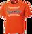Full Front Baseball Stitch Logo - Deep Orange