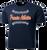 Full Front Baseball Stitch Logo - Navy