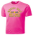 Bulldogs Swim & Dive Performance Tee - Neon Pink