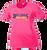 Bulldog Swim & Dive Ladies Performance Tee - Neon Pink