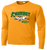 Amherst Cross Country Performance Tee LS - Gold