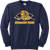 Olmsted Falls Hockey Crewneck - Navy
