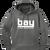 Bay Lacrosse Performance Hoody - Dark Smoke Grey