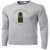 Forest City Standing Tall Performance Tee Long Sleeve - Silver